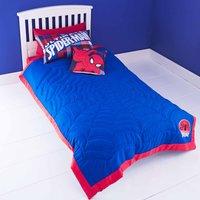 Marvel Spiderman Bedspread Blue / Red