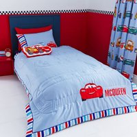 Disney Cars Bedspread Red / Blue