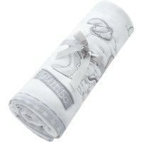Disney Dumbo Nursery Fleece Blanket White