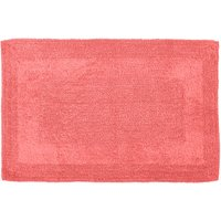 Super Soft Reversible Bath Mat Coral (Red)