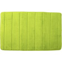 Memory Foam Bath Mat Lime Green