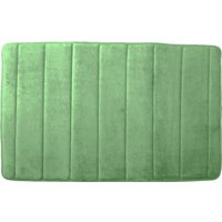 Memory Foam Bath Mat Fern (Green)
