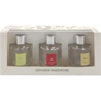 home fragrance diffuser wardrobe clear