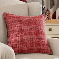 Morocco Red Cushion Red