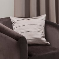 5A Fifth Avenue Venice Oyster Square Cushion Champagne Brown