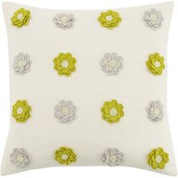Lexi Ditsy Floral Cushion Olive Green