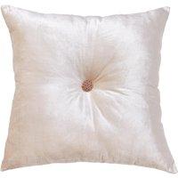 Large Geo Luxe Cushion Cream