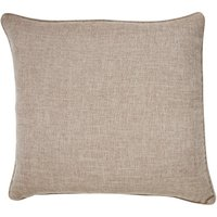 Large Vermont Natural Cushion Natural Brown