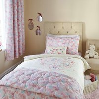 Maisie Heart Pink Duvet Cover Set Pink