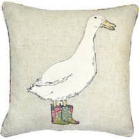 Country Goose Cushion Beige