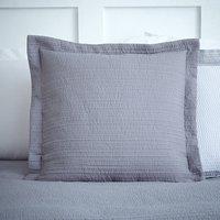 Harper Grey Square Cushion Grey