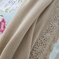 Melody Beige Throw Beige