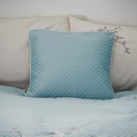 Misaki Duck Egg Square Cushion Duck Egg Blue