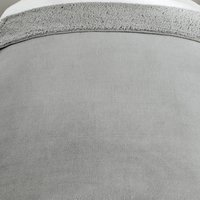 Supersoft Grey Fleece Blanket Grey