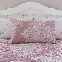 Laura Mauve Jacquard Pillow Sham Mauve