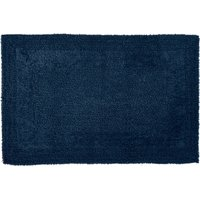 Super Soft Reversible Bath Mat Indigo Blue