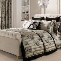 Dorma Harriet Charcoal Bedspread Charcoal