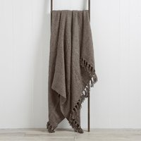 Chunky Chelsea Throw Mauve