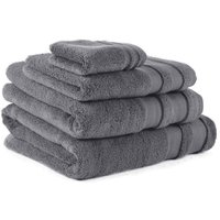 Steel So Soft Zero Twist Towel Steel (Grey)
