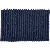 Bobble Bath Mat Indigo Blue
