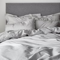 Casual Cotton Pebble Duvet Cover Pebble