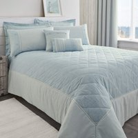 Millie Blue Bedspread Blue