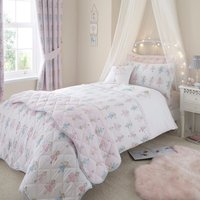 Fairies Pink Duvet Cover Set Pink