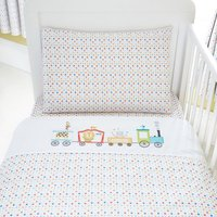 Circus Nursery Duvet Set White
