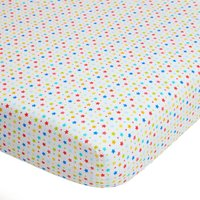 Circus Pair of Fitted Sheets White