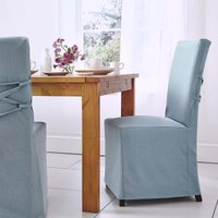 2 Duck Egg Chair Covers Duck Egg (Blue)