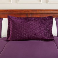 Adalene Plum Pillow Sham Plum (Purple)