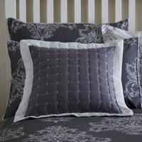 Versailles Charcoal Filled Cushion Charcoal