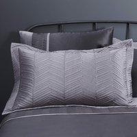 Owen Black Pillow Sham Grey