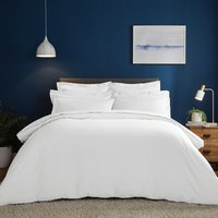 Fogarty Soft Touch White Duvet Cover and Pillowcase Set White