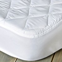 Fogarty Anti-Allergy 35cm Deep Mattress Protector White