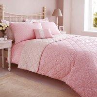 Annie Pink Bedspread Pink