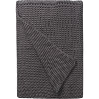 Charcoal Chunky Breckon Throw Charcoal (Grey)