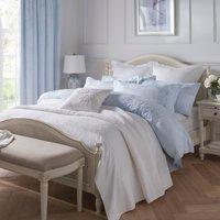 Dorma Hydrangea Bedspread White