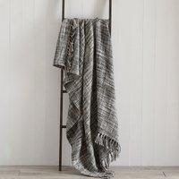 Camden Grey Throw Grey