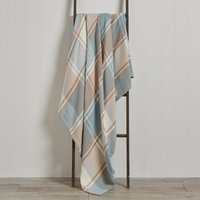 Duck Egg Carrie Throw Duck Egg (Blue)