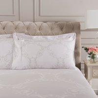 Dorma Palais Grey Cuffed Pillowcase Grey