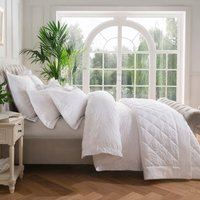 Dorma Fern White Duvet Cover White