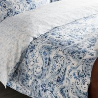 Dorma Vermont 100% Cotton Blue Duvet Cover Blue