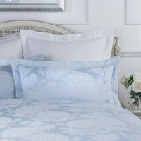 Dorma Hydrangea Blue Oxford Pillowcase Blue