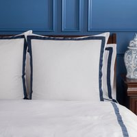 Dorma Maddison Navy Continental Pillowcase Navy