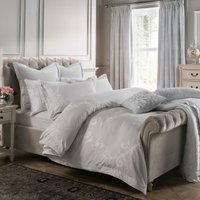 Dorma Palais 100% Cotton Grey Duvet Cover Grey
