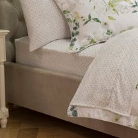 Dorma Botanical Garden Fitted Sheet Green