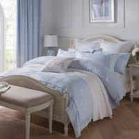 Dorma Hydrangea Jacquard Blue Duvet Cover Blue