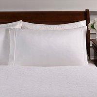 Dorma Charlbury Cream Cuffed Pillowcase Cream