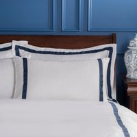 Dorma Maddison Navy Cuffed Pillowcase Navy